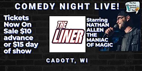 CADOTT, WI | Pub & Grub Comedy with Nathan Allen + Dan Bublitz Jr! tickets