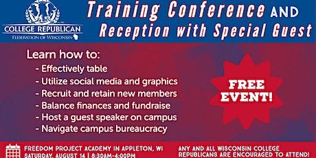 WICR Training Conference & Reception w/ Guest: Senator Pat Testin tickets