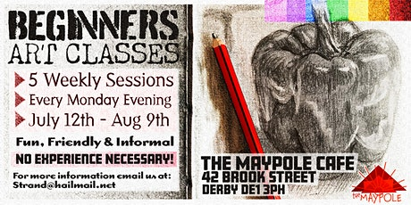 Beginners Art - Five week workshops tickets
