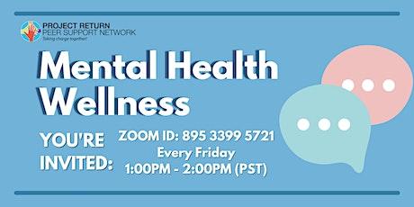 Mental Health Wellness tickets