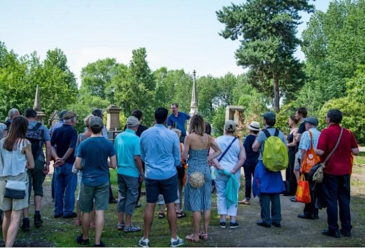 Guided Tour of Warstone Lane Cemetery in Birmingham Jewellery Quarter image