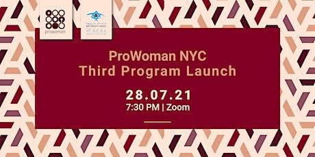 ProWoman 3rd Program Kick-Off Event Tickets