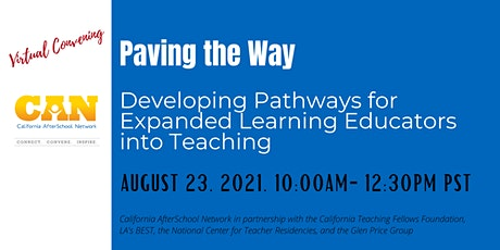 Paving the Way: Developing Pathways for EXL Educators into Teaching tickets