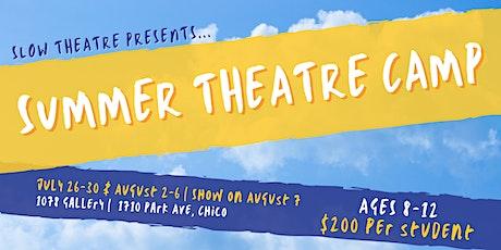 Slow Theatre Summer Theatre Camp 2021 tickets