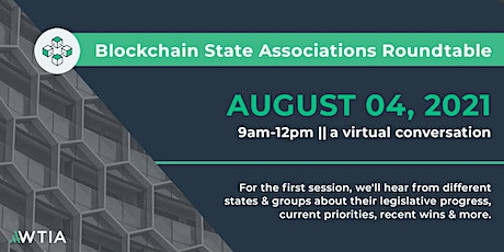 Blockchain State Associations Roundtable tickets