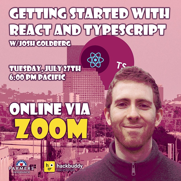 Getting Started with React and TypeScript w/Josh Goldberg image