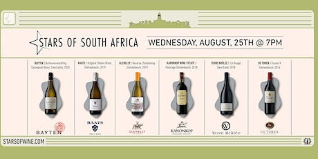 STARS of South African Wine tickets