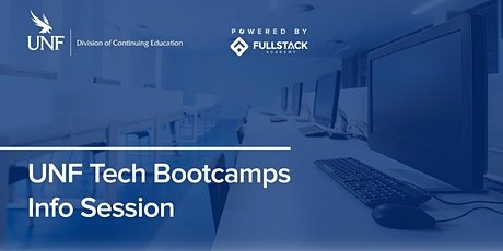 Online Info Session | UNF Tech Bootcamps tickets