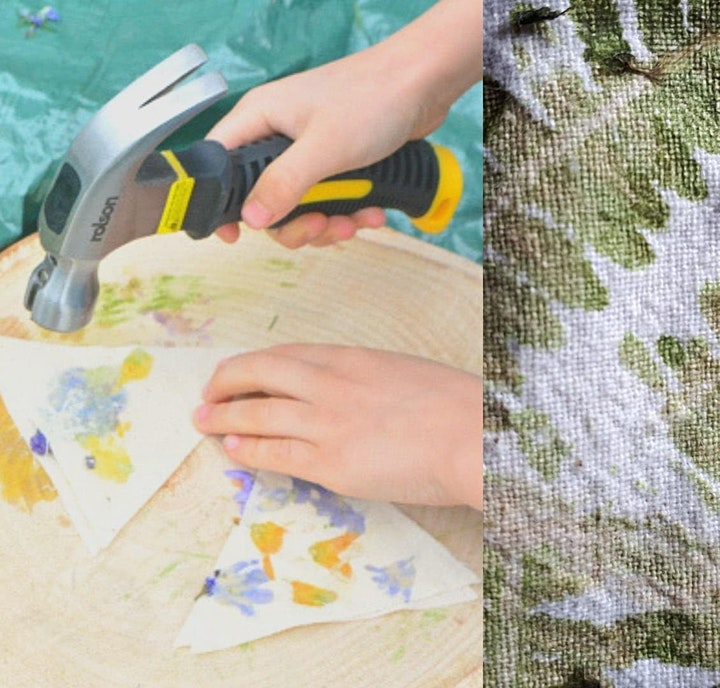 Unplug & Play - Crafty Thursdays: Hapa zome Bunting and Flags image