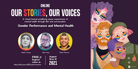 Gender Performance and Mental Health tickets