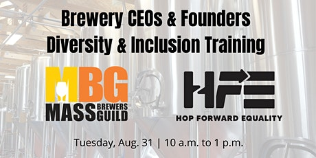 It Starts At The Top: D&I workshop for brewery CEOs & founders tickets