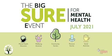 The BIG SURE for Mental Health Event - Socially Distanced Walk Cardiff tickets