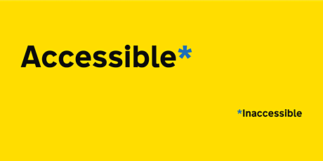 Accessible Digital Comms: Introduction to digital accessibility regulations tickets