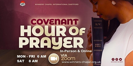 COVENANT HOUR OF PRAYER tickets