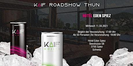 KAIF Roadshow am Thunersee Tickets