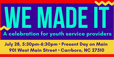 We Made It! A Celebration for OC Youth Service Providers tickets