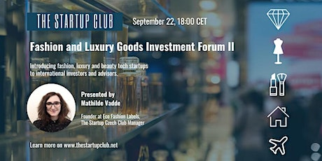 Fashion and Luxury Goods Investment Forum II Edition tickets