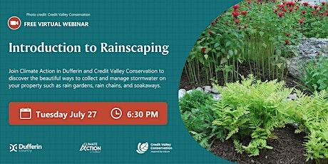 Introduction to Rainscaping Webinar biglietti