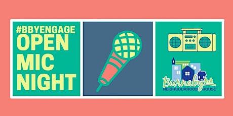 BNH Open Mic Night tickets