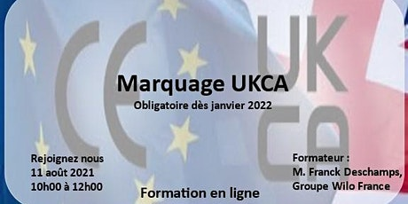 Marquage UKCA billets