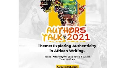 Author's Talk 2021 tickets