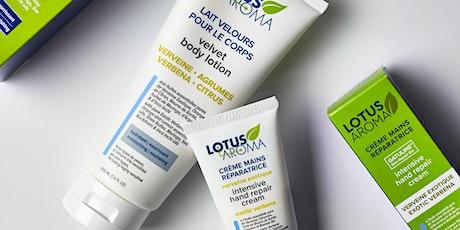 BODY ESSENTIALS (Exfoliating Cream, Velvet Body Lotion & Hand Cream) tickets