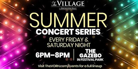 Summer Concert Series at The Village: 7 Million Jigawatts tickets