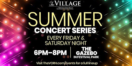 Summer Concert Series at The Village: Grooving Violation tickets