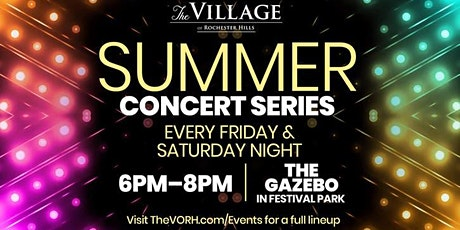 Summer Concert Series at The Village: The Blaine Fowler Experience (B.F.E.) tickets