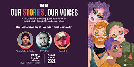 The Colonization of Gender and Sexuality tickets