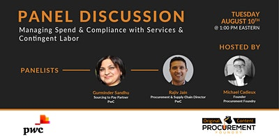 Discussion-Managing Spend & Compliance within Services & Contingent Labor