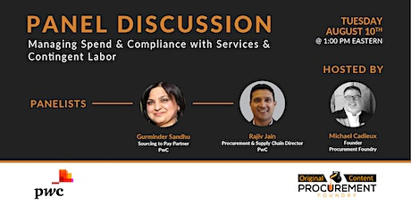 Discussion-Managing Spend & Compliance within Services & Contingent Labor tickets