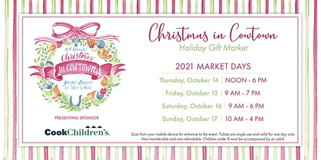Christmas in Cowtown Holiday Gift Market tickets