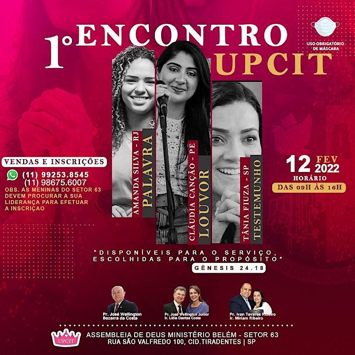 Imagem do evento 1 Encontro UPCIT