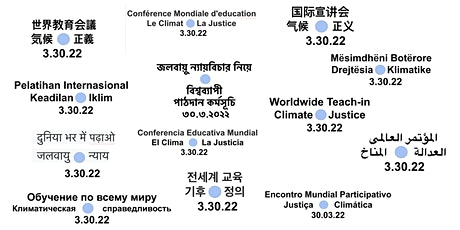 Info Sessions: The Worldwide Teach-In On Climate & Justice (3.30.22) tickets