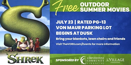 FREE Summer Movie Series at The Village: Shrek tickets
