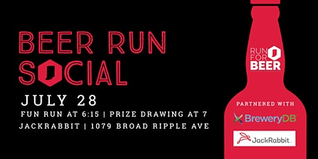Beer Run + Social Event | 2021 Indiana Brewery Running Series tickets