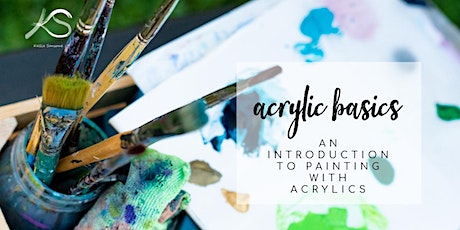 Acrylic Basics - An Intro to Painting with Acrylics tickets