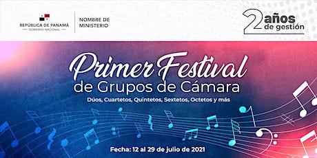 Primer Festival de Grupos de Cámara 2021 entradas