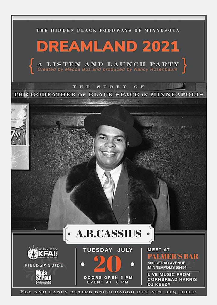 DREAMLAND 2021: A Listen + Launch Party w/ Cornbread Harris + more image