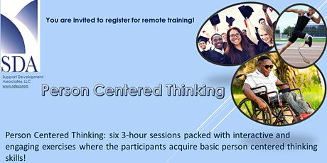 Person Centered Thinking Training Series 7 tickets