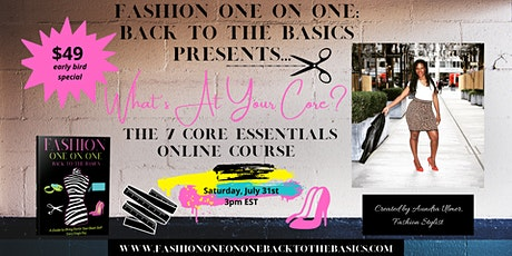 What's at Your Core? The 7 Core Essentials Online Course tickets