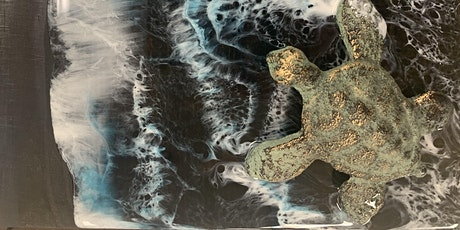 Honu in Black Sand Resin- Pearl City tickets
