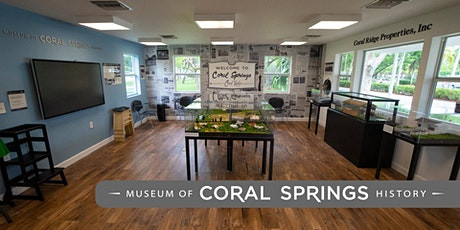 Museum of Coral Springs History Tour tickets