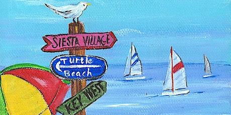 Paint 'n Sip @ Greenview: Beach Signs tickets