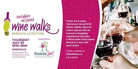 Wine Walk Downtown Parksville - Thursday July 29th tickets