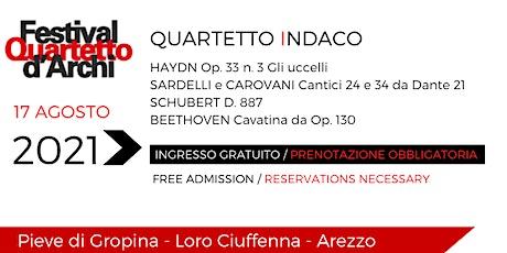 27° Festival del Quartetto d'Archi - Quartetto Indaco biglietti