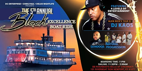 5th Annual BLACK EXCELLENCE WKND with featured Boat Ride tickets