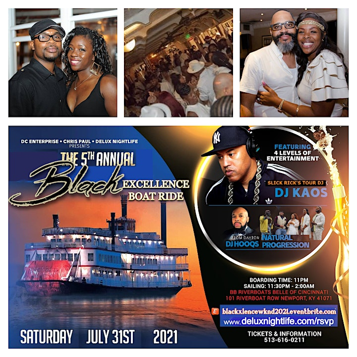 5th Annual BLACK EXCELLENCE WKND with featured Boat Ride image