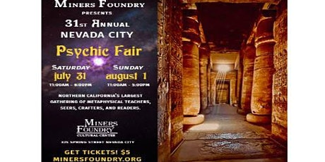Nevada County Psychic Fair tickets